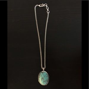 lucky brand Turquoise pendant necklace